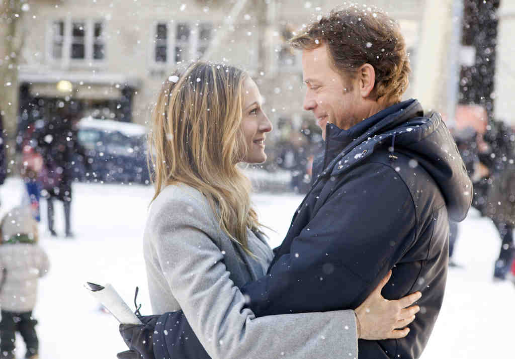 """Sarah Jessica Parker and Greg Kinnear in """"I Don´t Know How She Does It."""" She plays a working mom, he her underemployed-architect husband."""