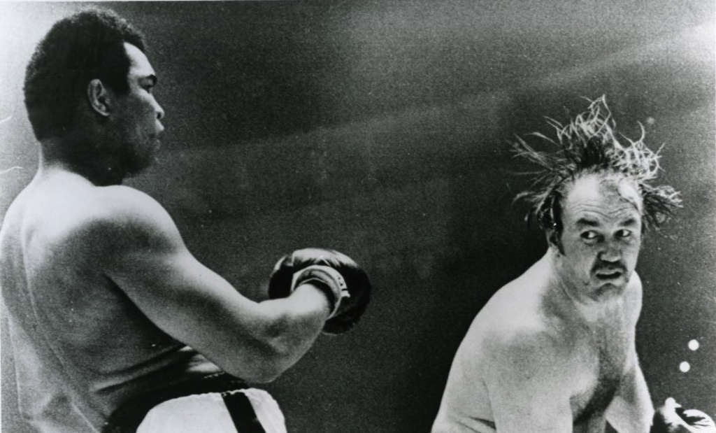 "A scene from ""The Real Rocky,"" the story of Chuck Wepner, known as ""the man who swallowed more blood than Dracula."""