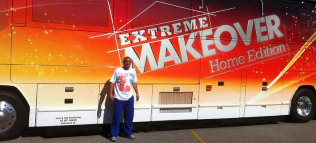"Shane Victorino , who shot in Waynesville, Mo., will be featured on the Veterans Day episode of ""Extreme Makeover: Home Edition."""