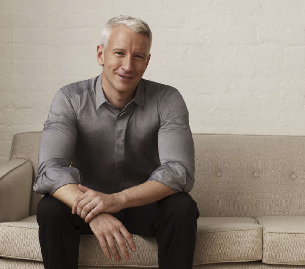 No couch potato, Anderson Cooper will be on the go most of the time he´s in town for a Constitution Center appearance Friday.