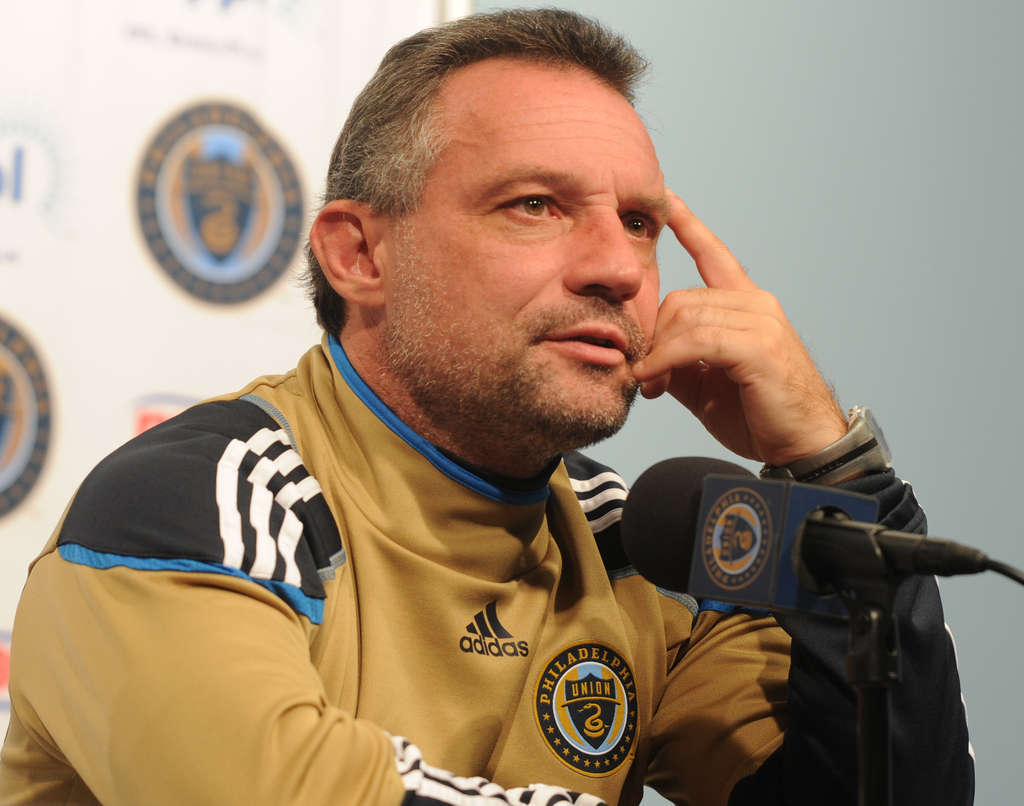 Manager Peter Nowak says the Union will be looking to acquire a top-notch striker.
