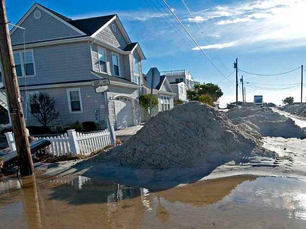 In Beach Haven on Long Beach Island, Hurricane Sandy´s effects are evident. APRIL SAUL / Staff Photographer