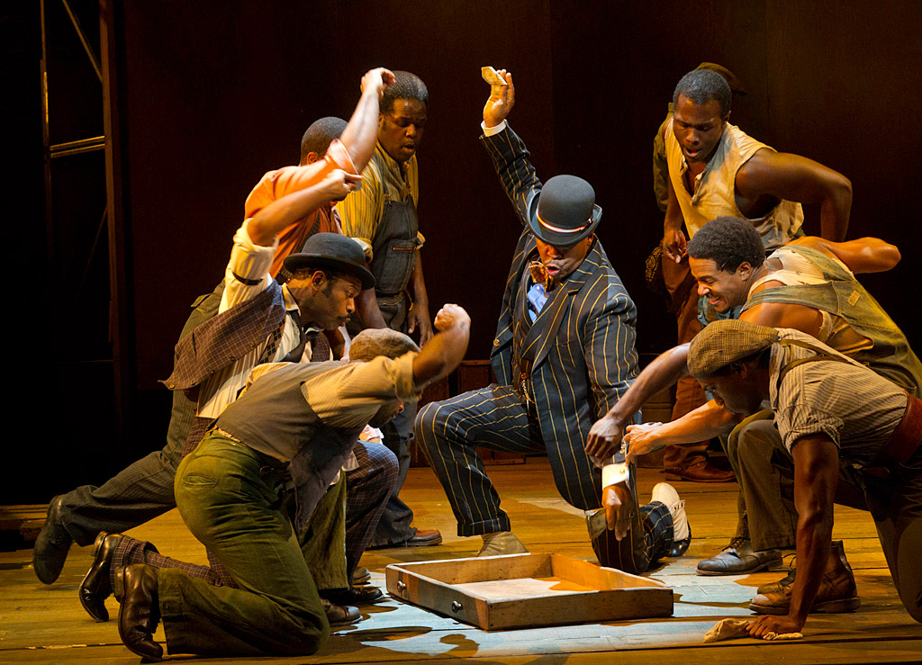 David Alan Grier (center) is playful as Sporting Life - until he needs to be menacing. The revival is as much Broadway as it is opera.
