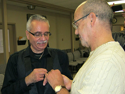 Francisco and David were married on October 23, 2011.