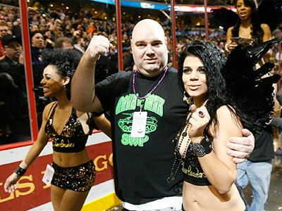 The excesses of Wing Bowl may have their roots in the most basic human evolutionary impulses. (File photo from Wing Bowl 19 in 2011.)