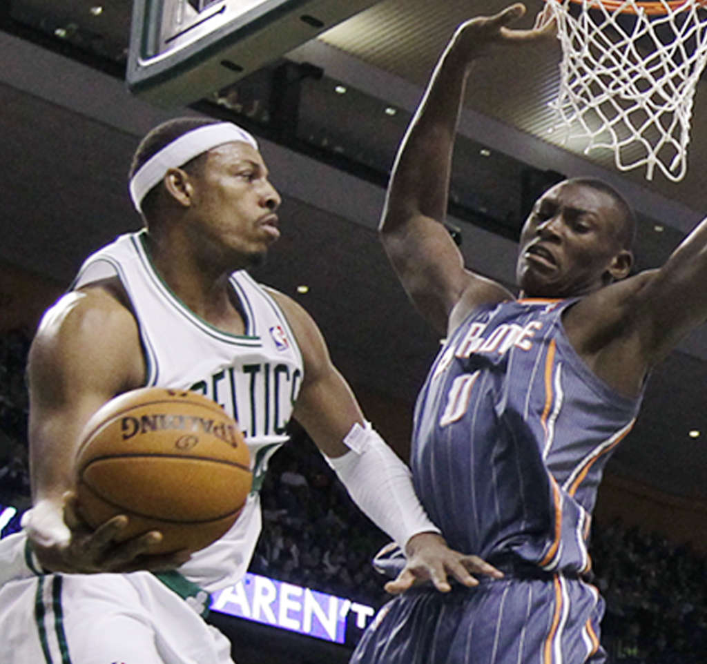 Celtics veteran Paul Pierce could provide a shooter capable of making the big shots a championship team needs.