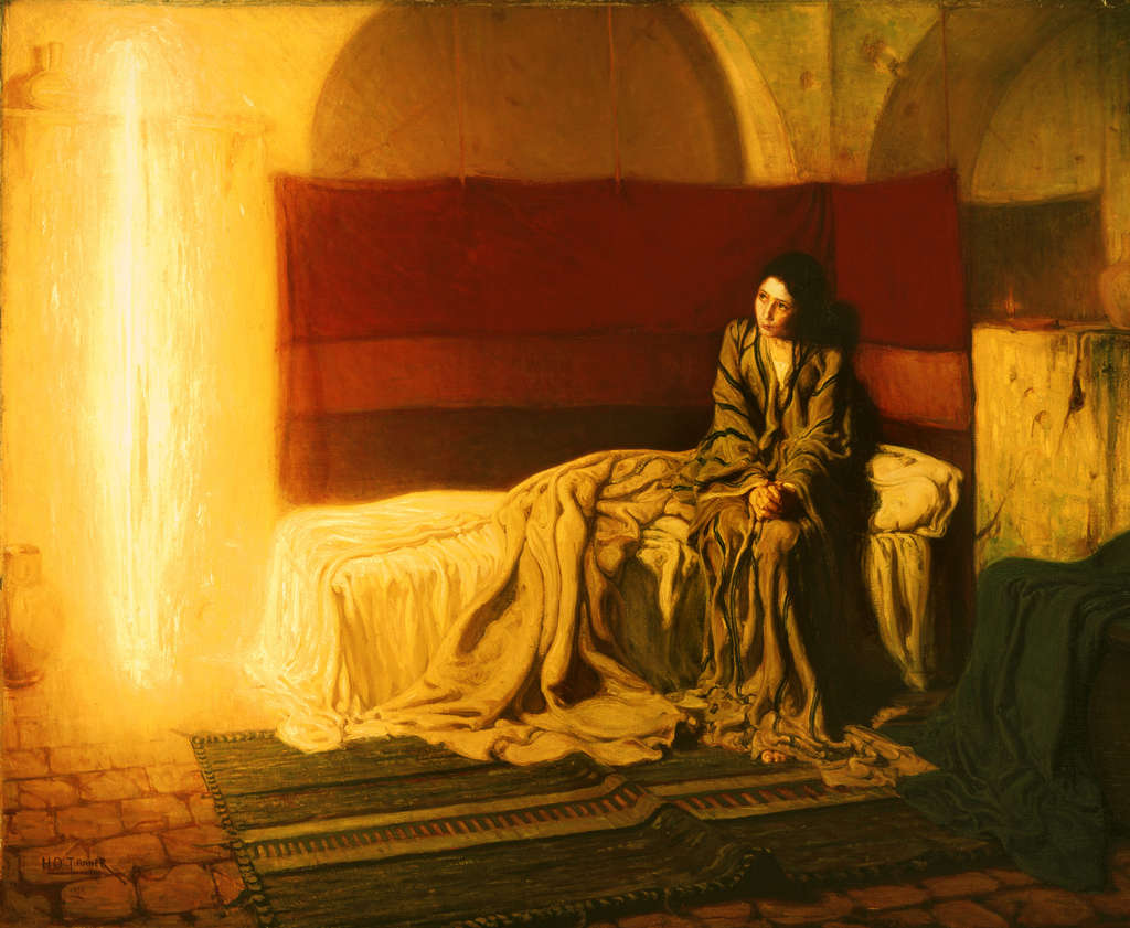"Henry Ossawa Tanner´s ""The Annunciation,"" 1898."