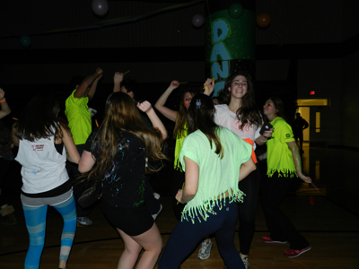 Harriton High School students had fun and raised funds for the Leukemia and Lymphoma Society during a seven-hour Dance-A-Thon.