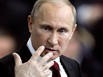 Vladimir V. Putin seeks return to presidency in elections Sunday. (Maxim Shipenkov / Associated Press, pool)