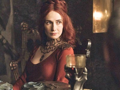 "Carice van Houten in a scene from the season premiere of ""Game of Thrones."" (HBO)"