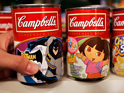 Campbell Soup is among firms using can linings without BPA, which some link to health problems. PAUL SAKUMA / Associated Press