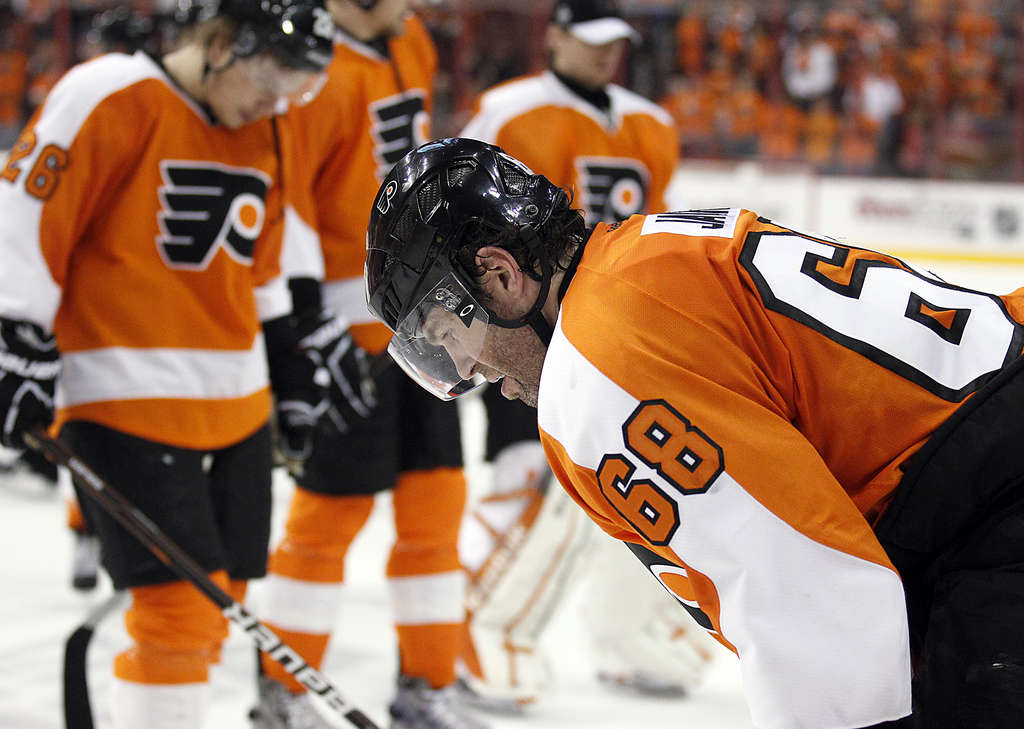 Jaromir Jagr said this season was one of the most enjoyable of his career, but will he wear orange and black next season?