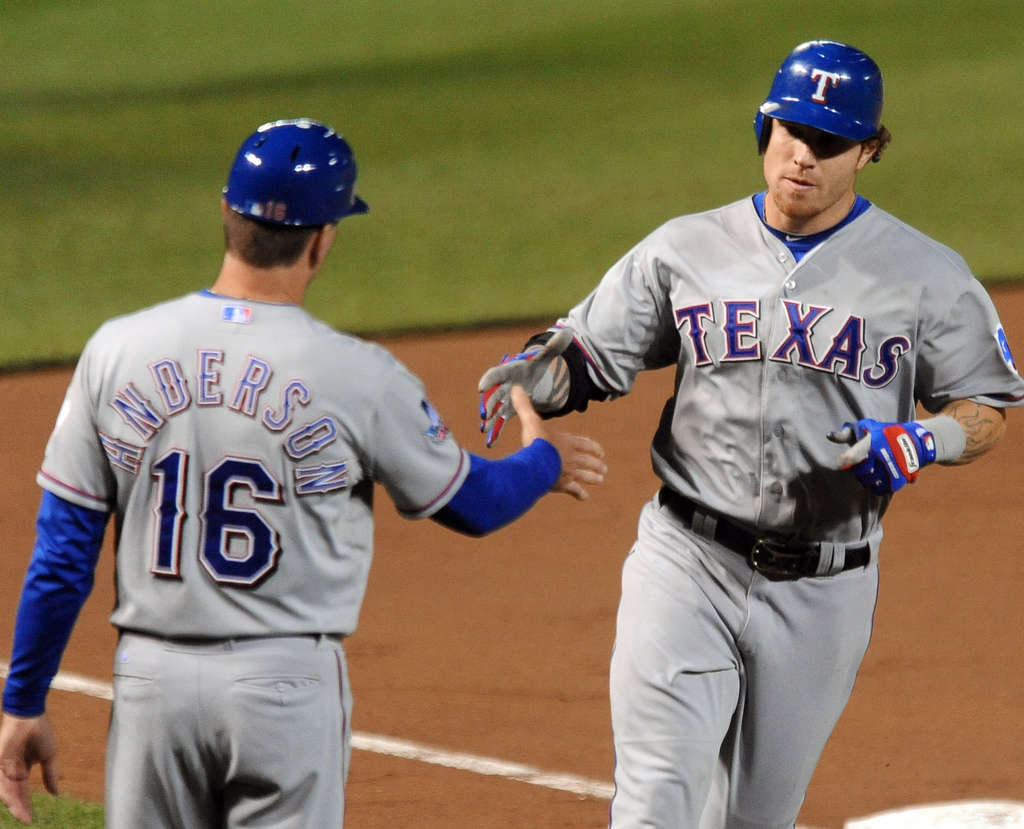 Josh Hamilton, passing coach Dave Anderson, had one of the greatest nights in history.