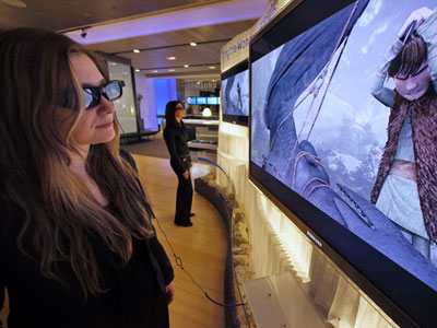 An effective and affordable technology for viewing TV in 3D without wearing special glasses will come to market this year, said Philadelphia-based  Stream TV Networks, Inc. (AP Photo)