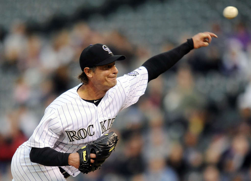 Jamie Moyer was cut by Colorado but will get a chance to make the Baltimore Orioles. CHRIS SCHNEIDER / Associated Press