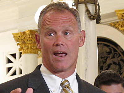 House Majority Leader Mike Turzai (R., Allegheny). (Marc Levy / Associated Press)