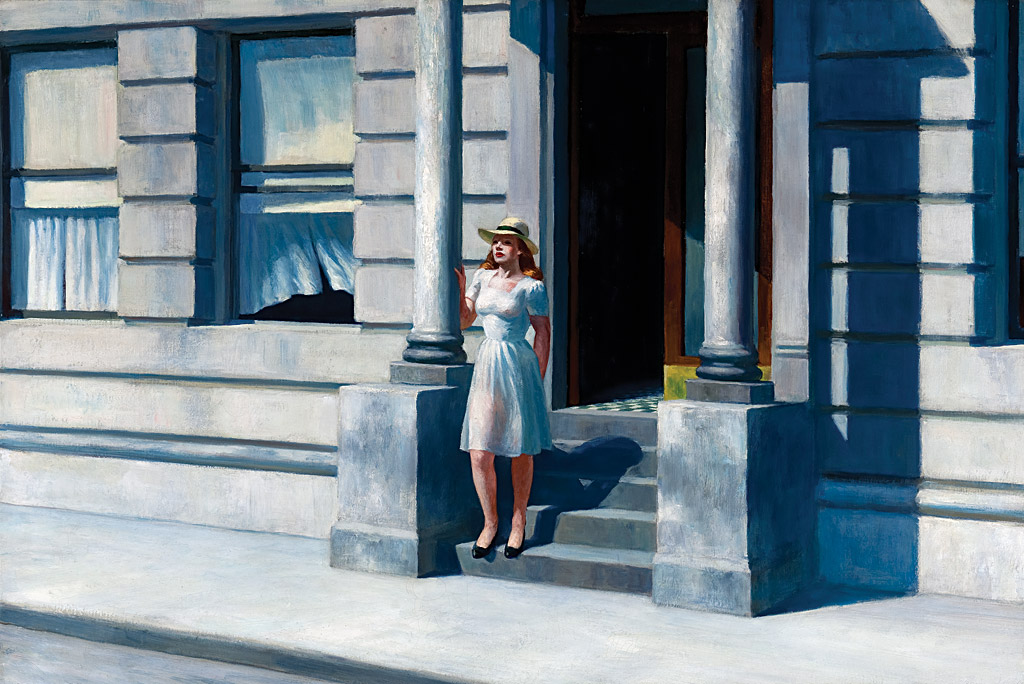 "Edward Hopper´s ""Summertime,"" a 1943 oil on canvas and a key work in Delaware Art Museum´s collection, was given to the museum in 1962 by Dora Sexton Brown, sister of Wilmington collector John L. Sexton."