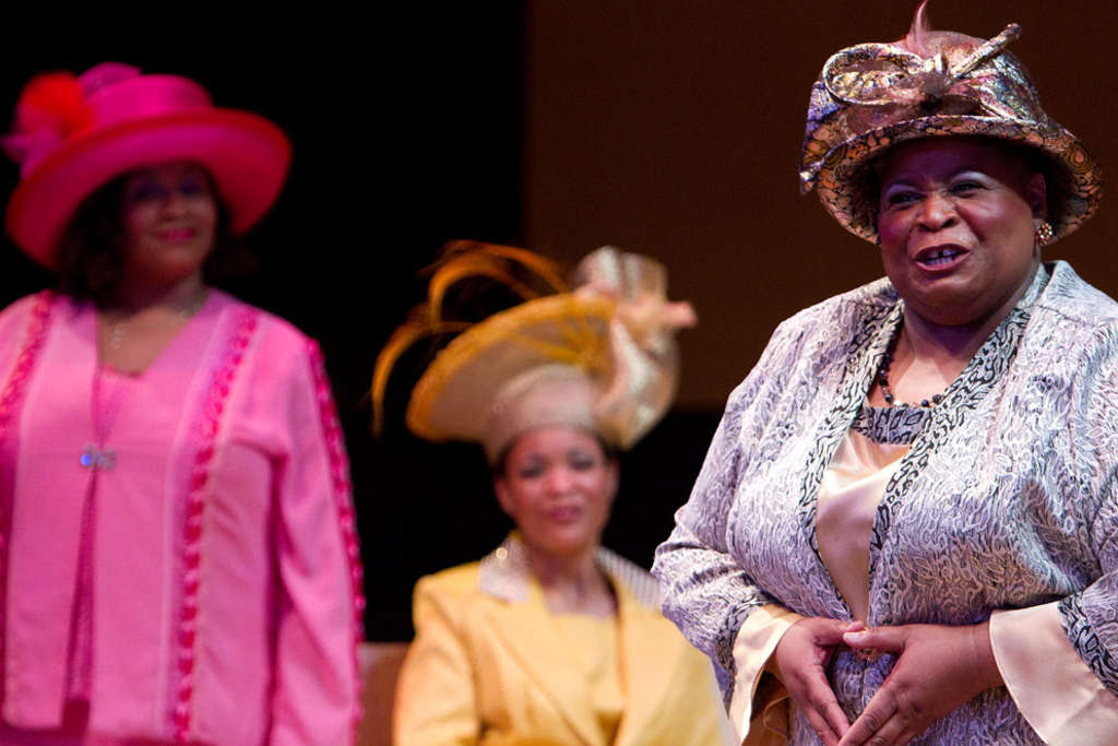 "Delaware Theatre Company´s ""Crowns,"" a musical celebration of hats and African American church life, was the third production to gather 10 Barrymore Award nominations."