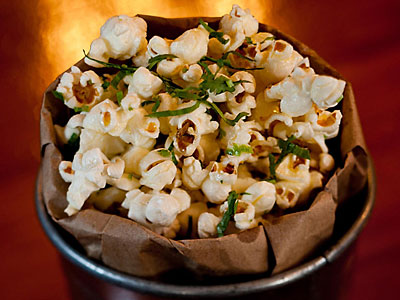 The bacon popcorn at Forest & Main in Ambler.  DAVID M WARREN / Staff Photographer