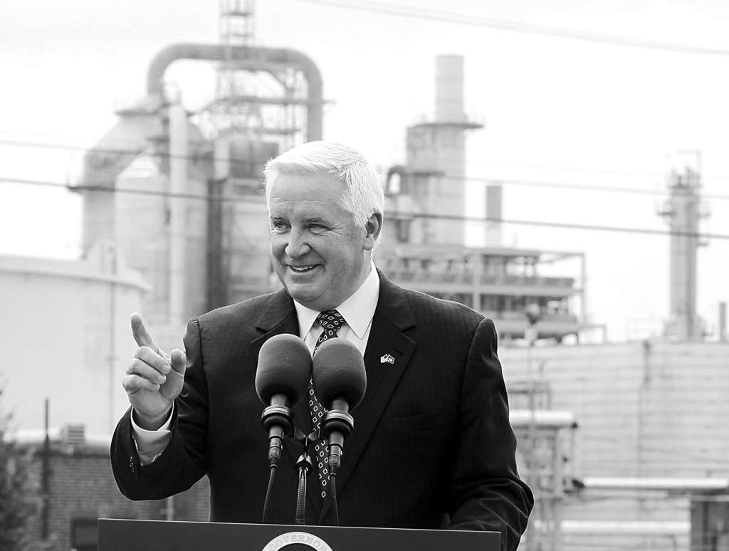 Gov. Corbett formed an advisory council in November to find ideas to promote manufacturing.