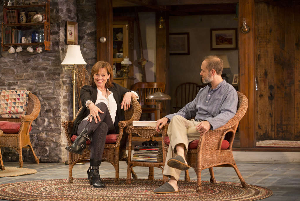 "Sigourney Weaver, David Hyde Pierce star as sister and brother in ""Vanya and Sonia and Masha and Spike"" at McCarter in Princeton. The show is heading to New York."