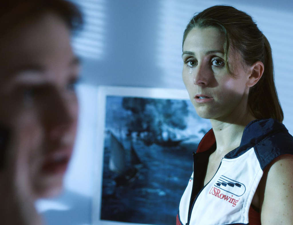 Sarah Megan Thomas, who wrote the film, stars as an Olympic rower who opts to have a life rather than be an alternate.