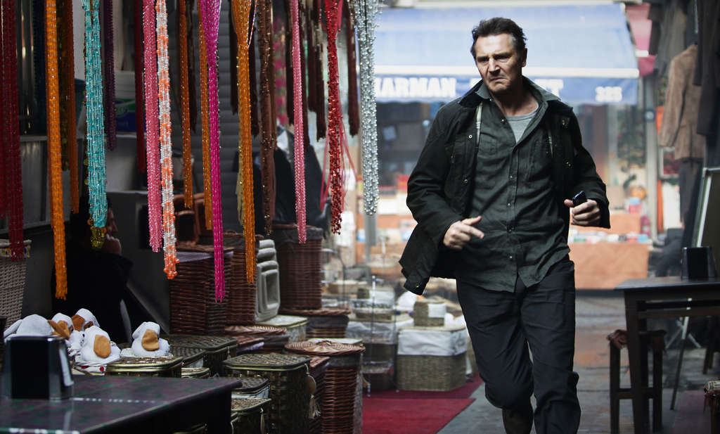"""Liam Neeson fights the bad guys again in a """"Taken"""" sequel."""