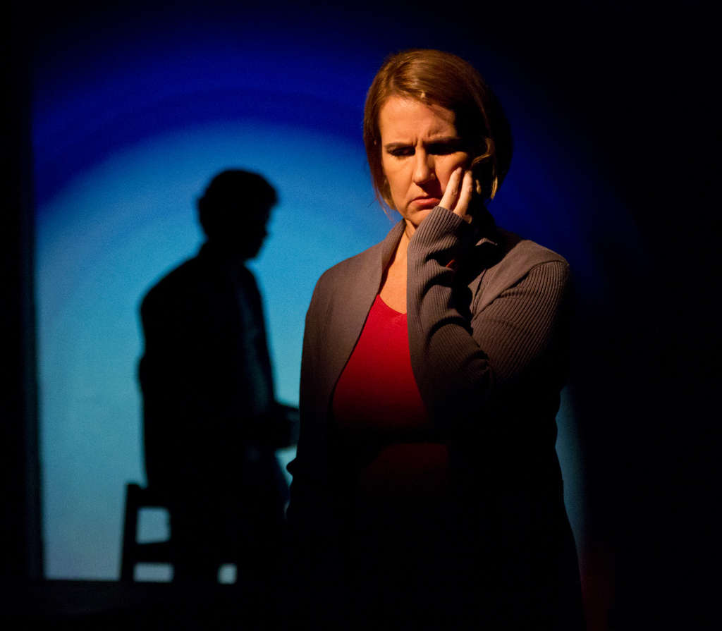 "Kristine Fraelich as Diana, bipolar, self-destructive, and hallucinating, in Arden Theatre Company´s production of ""Next to Normal."""