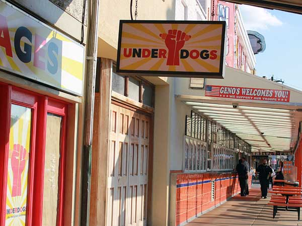 Underdogs opened last October at 1205 S. Ninth St.