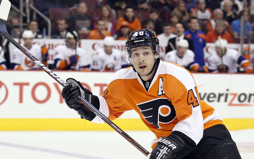 Danny Briere is included in a new book about the Flyers by the daughter of Flyers legend Bob Clarke.