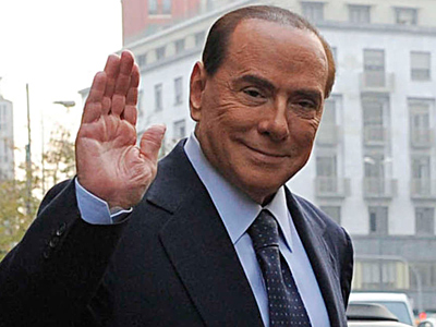 """Former Italian Premier Silvio Berlusconi has been found guilty in a tax fraud scheme, but he blamed his conviction on """"politicized"""" judges."""
