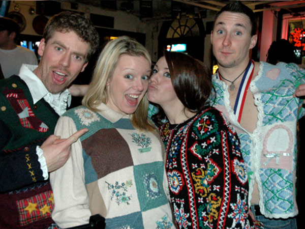 Perch Pub will be hosting a Mad Elf ugly holiday sweater party.