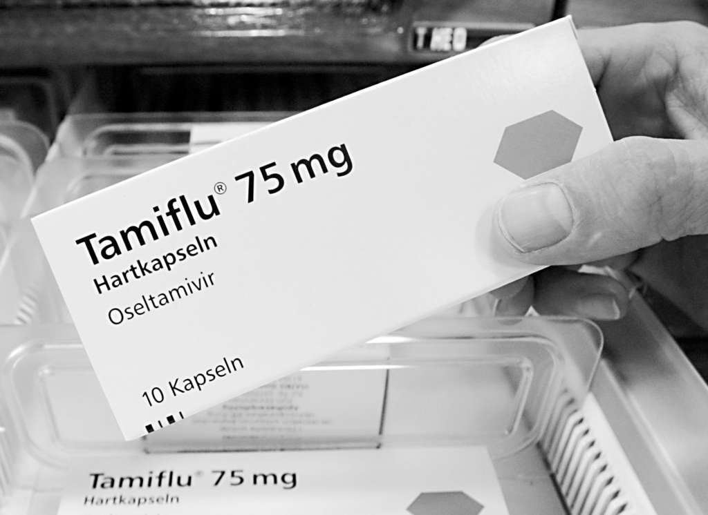 The benefit of a five-day course of Tamiflu is modest at best.