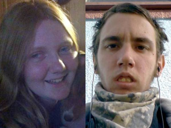 According to police, Savanna Marie MacMullett, 13, of Radnor, left, has been reported missing may be with a man she met online, Ashley Ryan Hareford, 20, right.