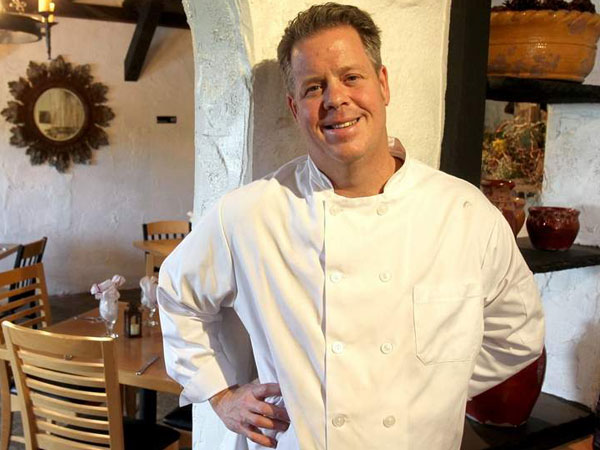 Chef Peter McAndrews, at La Porta in Media. Charles Fox / Staff Photographer