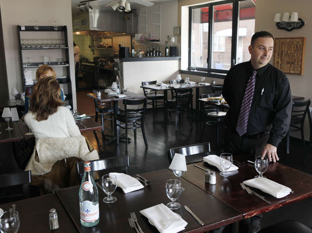 Frank Crocetto, owner of Eatalia, a simple Southern Italian BYOB in Fishtown.
