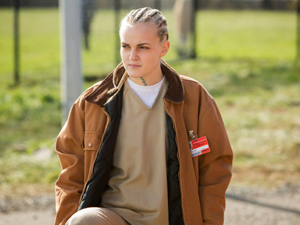 Brewer  who played cornrowed Tricia on  quot Orange is the New Black    White Girl With Cornrows Orange Is The New Black