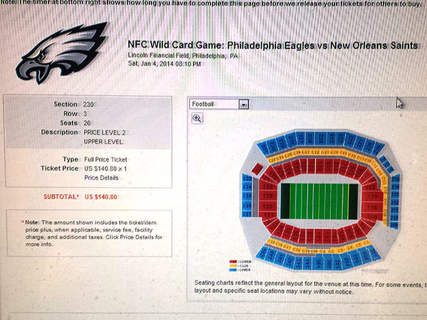 Eagles tickets still available via Ticketmaster?