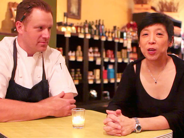 Fork chef Eli Kulp and owner Ellen Yin.