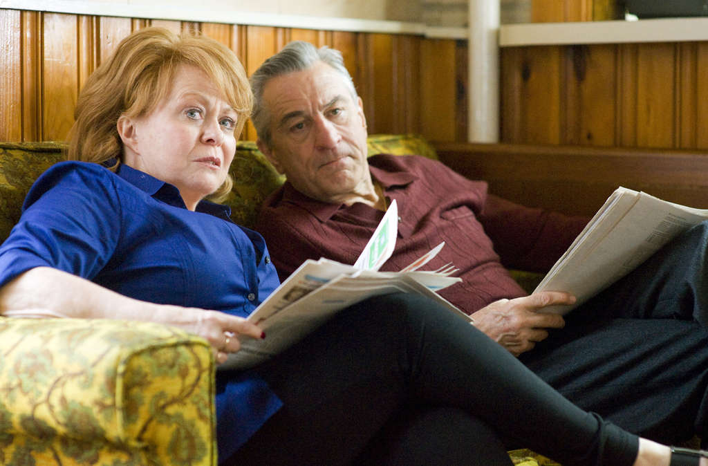 """Silver Linings Playbook"" stars Jacki Weaver (left) and Robert De Niro (right): He ""couldn´t have been nicer to me,"" she said of De Niro."