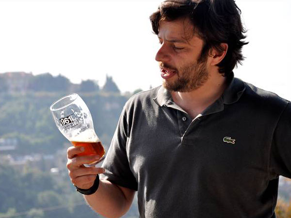 Mazen Hajjar founded 961 Beer in 2006 and since has grown to produce 300,000 cases annually.
