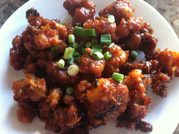 Gobi Manchurian.... Indo-chinese fried cauliflower
