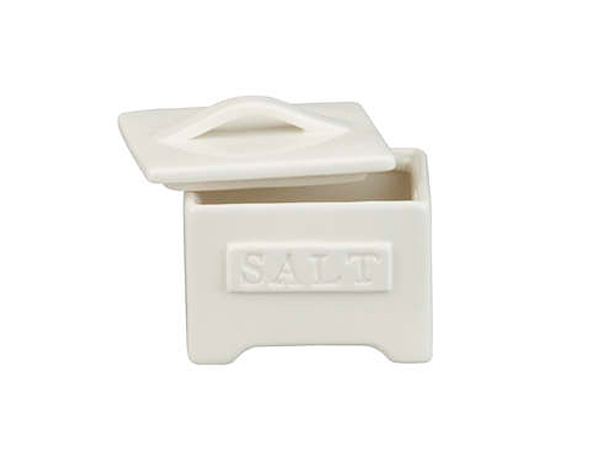 Homestead saltcellar, $9.95, Crate and Barrel