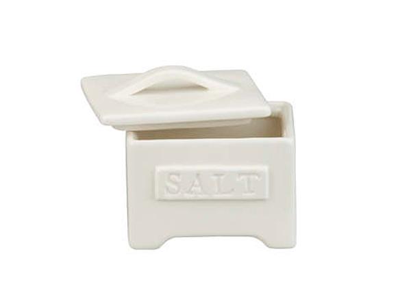 Homestead saltcellar, $9.95, Crate and Barrel