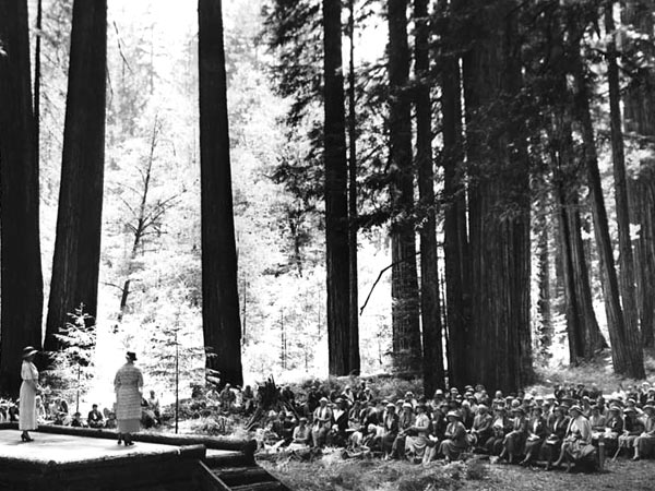 Early conservation activists: In 1934, the 2,500-acre Garden Club of America Redwood Grove in Humboldt Redwoods State Park in California was dedicated.