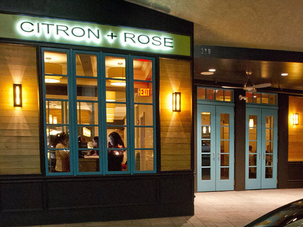 Exterior of Citron & Rose.  DAVID M WARREN / Staff Photographer