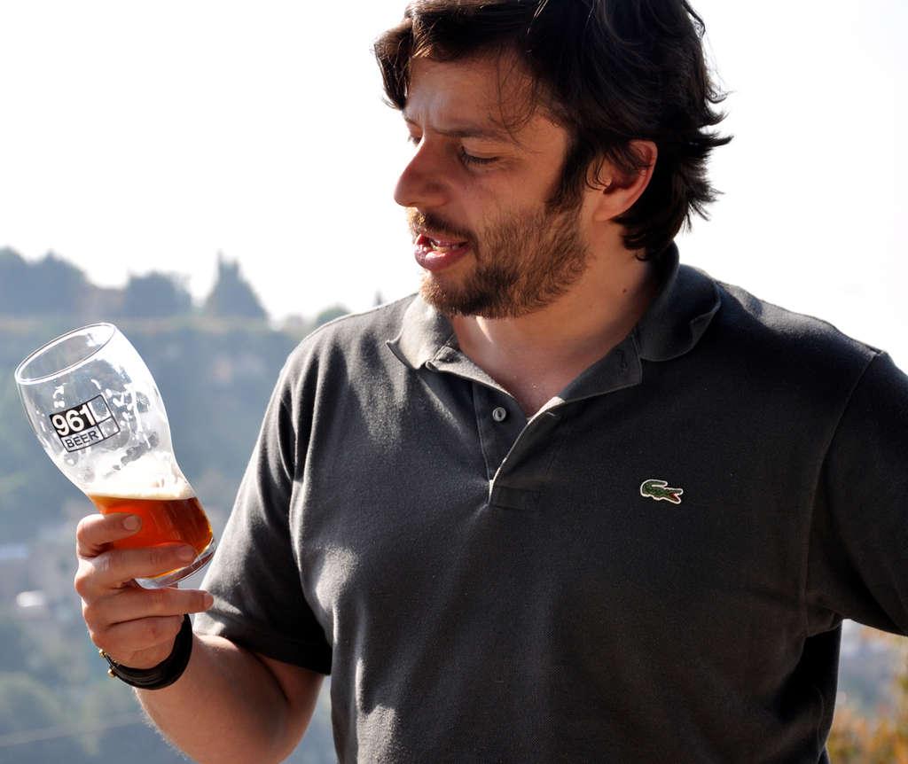 Mazen Hajjar´s 961 Beer Co. brings new types of beer to Beirut.