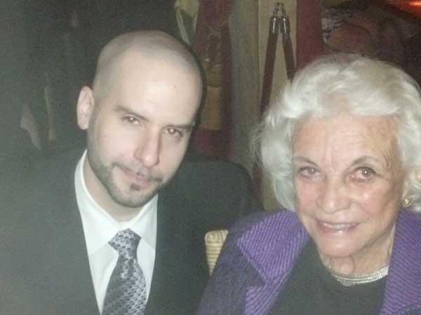 Cuba Libre manager Reni Goldberg and retired Supreme Court Justice Sandra Day O´Connor.