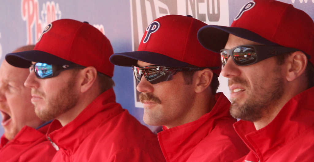 Some see old, others see gold: Phillies arms (from left) Roy Halladay, Cole Hamels, and Cliff Lee.