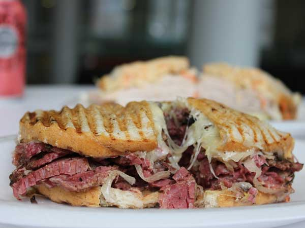 Kosher pastrami now sits on the sandwiches at Hershel´s at Reading Terminal Market.